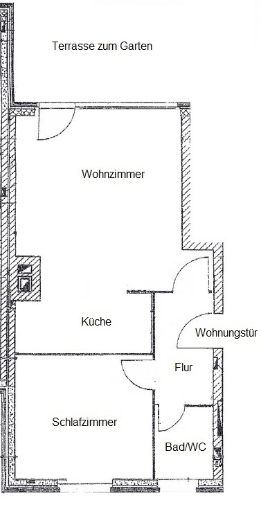 Ferienwohnung Wenningstedt - Grundriss