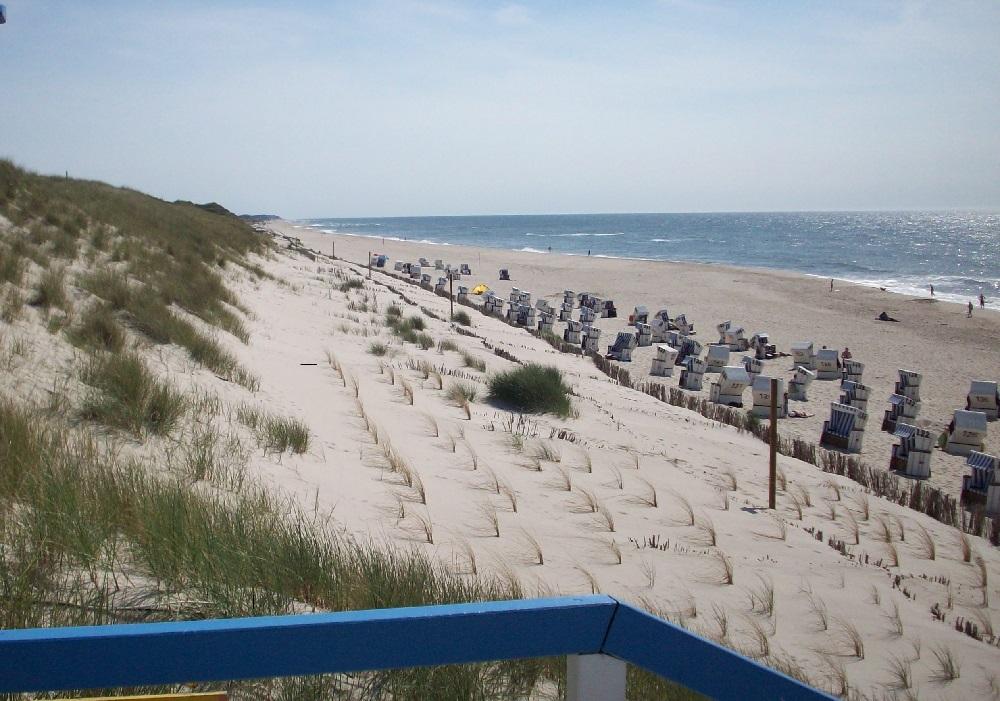 Sylt am Strand