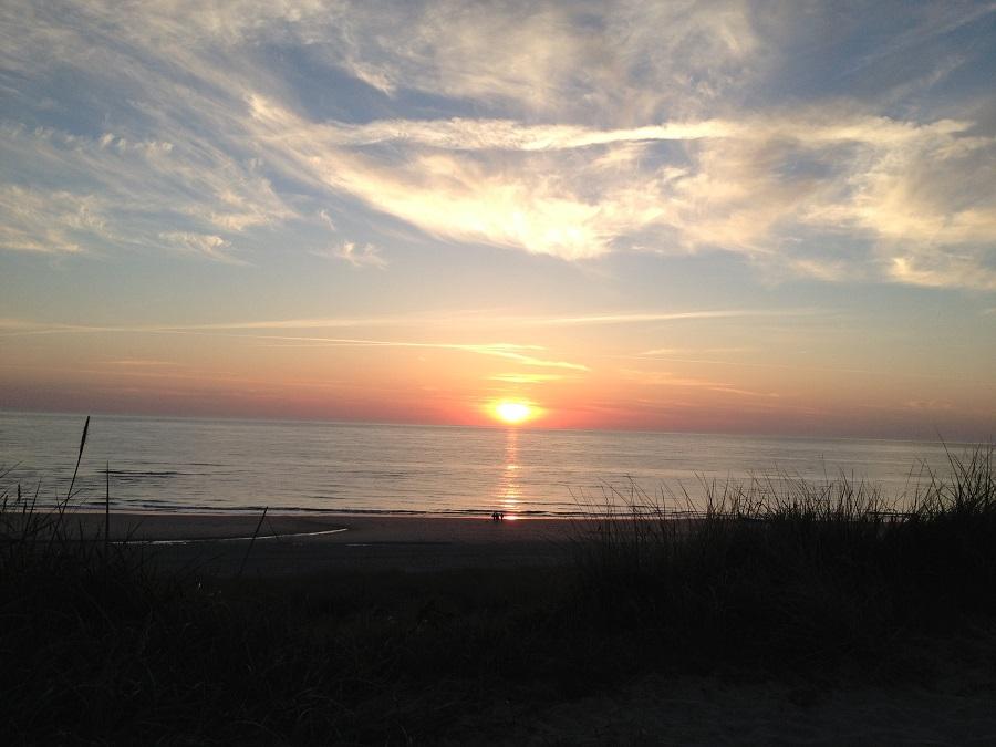 Sonnenuntergang bei Gosch