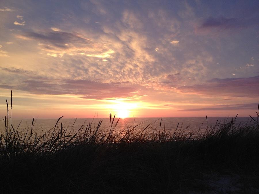 Ferienwohnung Wenningstedt - Sonnenuntergang