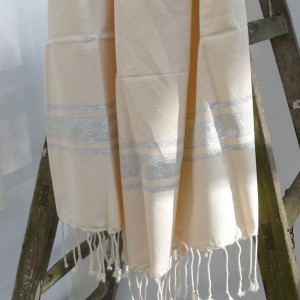 Fouta in silber
