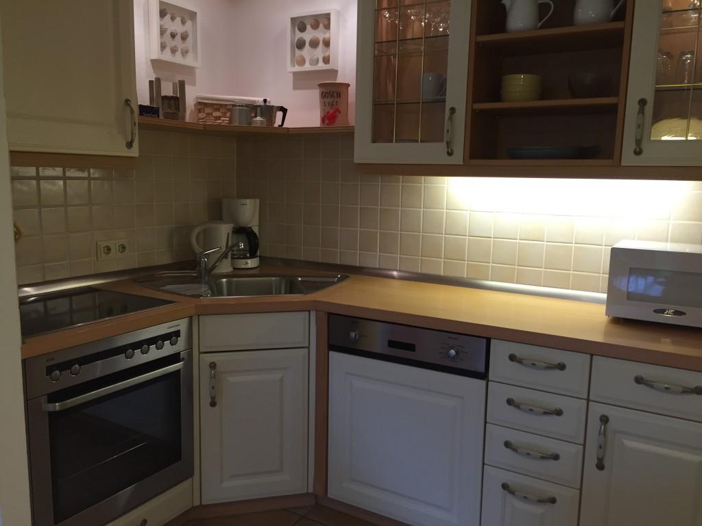 Ferienwohnung Wenningstedt - Küche Sylt Zuhause