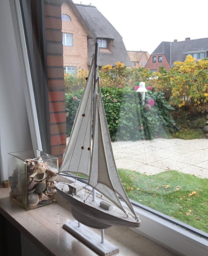 Ferienwohnung Wenningstedt - Segelschiff und Muscheln Sylt Zuhause