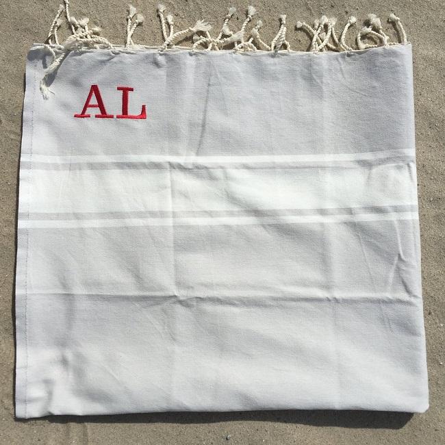 Strandtuch Fouta Monogramm