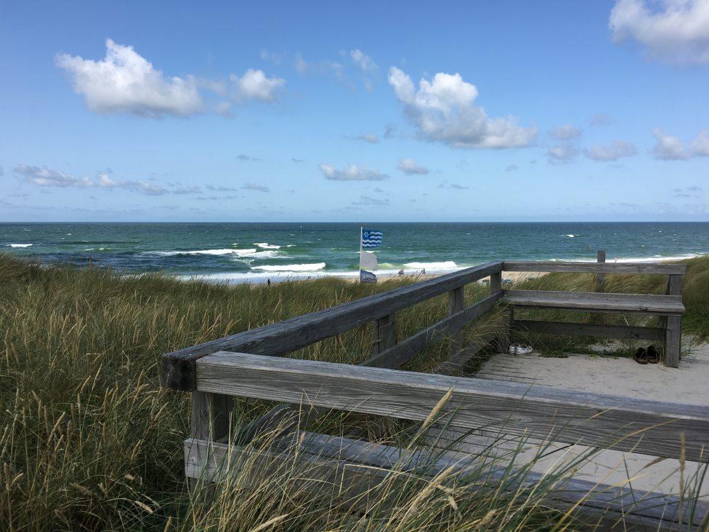 Ferienwohnung Wenningstedt - Aussichtsplattform